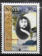 NEVIS  N° 1315 * *  Millennium Vitus Bering - Explorers