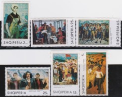 Albanien   .      Yvert      .   1257/1262     .    **     .      Postfrisch    .   /   .   MNH - Albanie