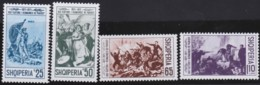 Albanien   .      Yvert      .   1283/1286       .    **     .      Postfrisch    .   /   .   MNH - Albanie