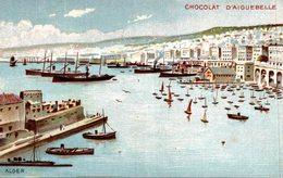 CHOCOLAT D AIGUEBELLE  ALGER - Publicité