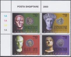 Albanien   .      Yvert      .  2680/2683      .    **     .      Postfrisch    .   /   .   MNH - Albanie