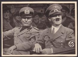 AK Propaganda / Der Führer Und Der Duce / Die Garanten Des Friedens - Weltkrieg 1939-45