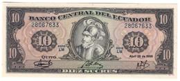 ECUADOR10SUCRES29/04/1986P121UNC.CV. - Ecuador
