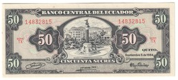 ECUADOR50SUCRES05/09/1984P122UNC.CV. - Ecuador