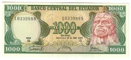 ECUADOR1000SUCRES29/09/1986P125UNC.CV. - Ecuador