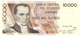 ECUADOR10000SUCRES08/08/1995P127UNC.CV. - Ecuador