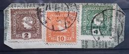 Kaiserreich 1916, Briefstück MiF KLAGENFURT - 1850-1918 Empire