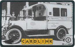 UK (Cardlink) - Great Ormond Street Hospital - Old Ambulance - 3CLKD, 3.000ex, Used - Ver. Königreich