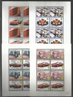 4x DOMINICA - MNH - Transport - Cars - Ferrari - Voitures