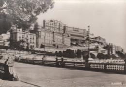 C. P. - PHOTO -  PRINCIPAUTE DE MONACO - L'AVENUE DE MONTE CARLO - LE QUAI ET LES HOTELS - 1 427 - LA CIGOGNE - EN 1954 - Monaco
