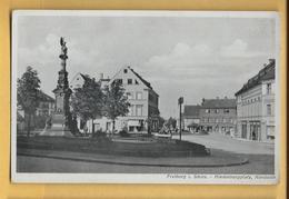 C.P.A. Freiburg Im Schles - Hindenburgplatz , Nordseite - Freiburg I. Br.