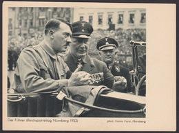 AK Propaganda / Der Führer / Reichsparteitag Nürnberg 1933 - Weltkrieg 1939-45