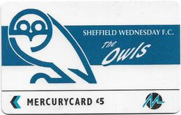 UK (Paytelco) - Football Clubs - Sheffield Wednesday Logo - 3PFLV, 5.900ex, Used - Reino Unido