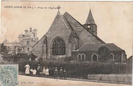 76 Saint Jouin. Place De L'Eglise - France