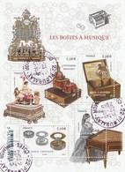 FRANCE 2015 BLOC OBLITERE LES BOITES A MUSIQUE YT - F4993 - F 4993  - - Blocs & Feuillets