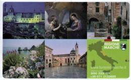 *ITALIA: VIACARD - REGIONE MARCHE (€. 25)* - Usata - Non Classificati