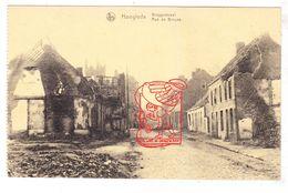 PK 4x Hooglede 1918 - WO I 14-18 / Ieperstraat Marktplaats Kortemarkstraat Bruggestraat - Hooglede