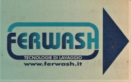 *ITALIA: TESSERA MAGNETICA -  FERWASH* - Usata - Non Classificati