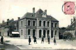 N°2662 T -cpa Putanges -hôtel De Ville- - Putanges