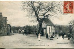 N°2666 T -cpa Planches -route De Paris- - Francia