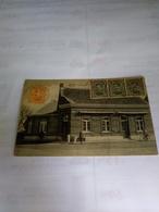 Belgique Baelen - Nethe Tres Rare Cpa Vue Anime Parfait Envoie A Argentina 1922 Timbres Albert L Canc. Baelen-nethe - Baelen