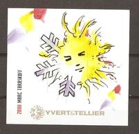 France 2008 - Vignette Avec Timbre Yvert & Tellier - Dessin De Marc Taraskoff - Erinnophilie