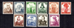 Allemagne/Reich YT N° 547/556 Neufs ** MNH. TB. A Saisir! - Germania