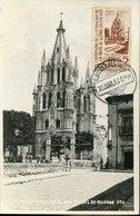 51147 Mexico, Maximum  30.3.1943 S.miguel De Allende,templo Parroquial, Cathedral, Architecture - Chiese E Cattedrali