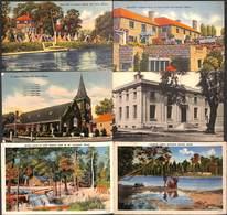 US - Maine - Lot Of 6 Postcards (animation, Colors, See Scans) - Non Classés