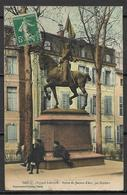 NANCY    -  1911 .  Square  Lafayette   -   Statue  De  Jeanne  D' Arc. - Nancy