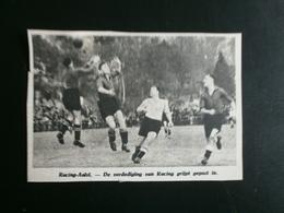 Racing-Aalst. Voetbal 1947 - Historische Dokumente