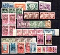 Tchad Belle Petite Collection Neufs ** MNH 1924/1933. Bonnes Valeurs. TB. A Saisir! - Tchad (1922-1936)