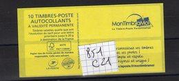 Carnet Marianne CIAPPA Lettre PRIORITAIRE N°851 C 11 - Carnets