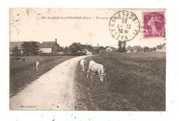 St.Loup-des-Chaumes-Vue Prise De La Route De Levet-(D.4888) - France