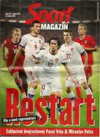 FACA.Czech Republic National Football Team. SPORT MAGAZIN 2014.   40 Pages Couleurs. Très Bon état. - Bücher