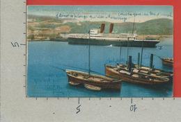 CARTOLINA NV ALGERIA - PHILIPPEVILLE - SKIKDA - Le Port - Arrivee Du Courrier De France - 9 X 14 - 1929 - Altre Città