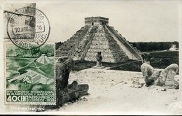 51151 Mexico, Maximum  10.8.1938 Ruins Of Chichén Itzá (Yucatan),capital Of The Maya Empire,archeology - Archeologia