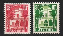 Année 1957-N°340A/341 Neufs**MNH : Cour Mauresque Du Musée Du Bardo - Ungebraucht