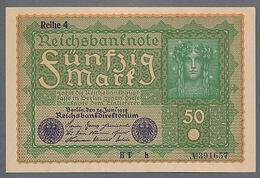 """P66 Ro62d DEU-71d""""h""""   50 Mark   UNC NEUF - [ 3] 1918-1933 : República De Weimar"""