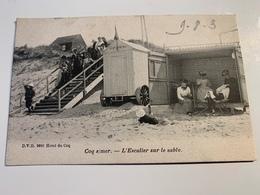 Coq S/mer L'escalier Sur Le Sable 1903 - De Haan
