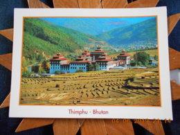 BHOUTAN - THIMPHU - CPSM VIERGE IMPRIMEE PAR BHUTAN ASSOCIATION - Bhutan