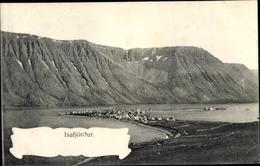 Cp Isafjördur Island, Gesamtansicht - Islande