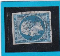 N° 14A  PC 2257  NEUVILLE-sur-L'ISLE  ( 23 )   DORDOGNE - REF 14112  - IND 11 - COTE 70€ + Variété - 1853-1860 Napoleon III