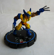 FIGURINE HEROCLIX MARVEL WOLVERINE Rareté 3  Socle Bleu - Marvel Heroes
