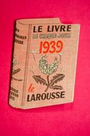 Calendrier De Poche 1958, Petit LAROUSSE ILLUSTRÉ, Cachet à L'arrière Librairie LIARD à Besançon - Kalenders
