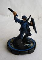 FIGURINE HEROCLIX MARVEL XPLOSION S.W.A.T. OFFICER Veteran Rareté 3 Socle Bleu - Marvel Heroes