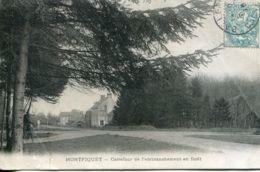 N°2674 T -cpa Montfiquet -carrefour De L'embranchement En Forêt- - France
