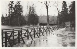 BAR SUR SEINE - LES INONDATIONS DU 16 JANVIER 1955 - CA DEBORDE DE PARTOUT  - BELLE CARTE PHOTO - PETITE ANIMATION - Bar-sur-Seine