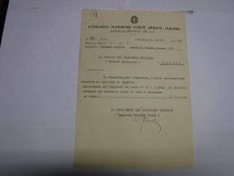 TIRANA --- ALBANIA  --- 22/A  - COMANDO SUPERIORE FORZE ARMATE  ALBANIA - Italie