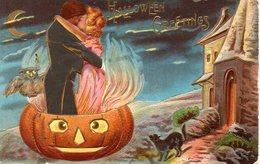 HALLOWEEN - PUMPKIN - OWL - BLACK CAT - N 028 - Halloween